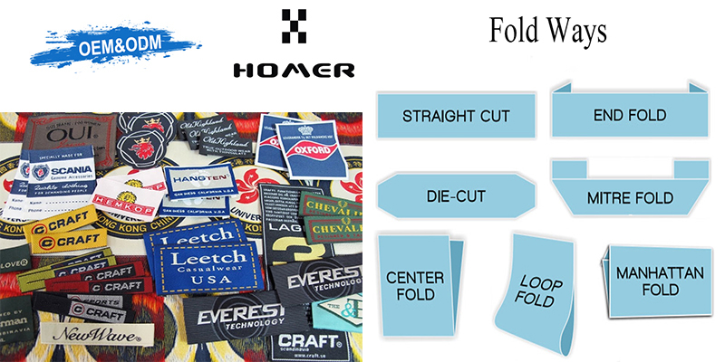 Woven Main Labels OEM