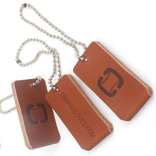 Leather Hang Tags with String and Eyelet for Garments