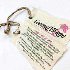 Cotton Custom Brand Tags