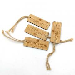 Wooden Printed Swing Tags