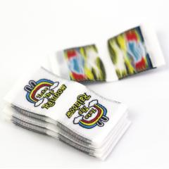 Woven Tag Labels with Brand Name