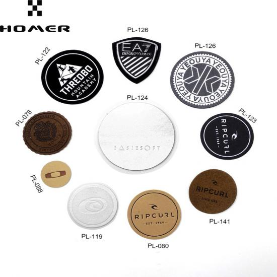 Customized Logo Leather Patches for Clothing