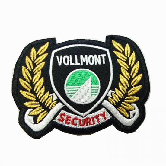 Hand Made 3D Embroidered Badges For Jackets OEM Manufacturer