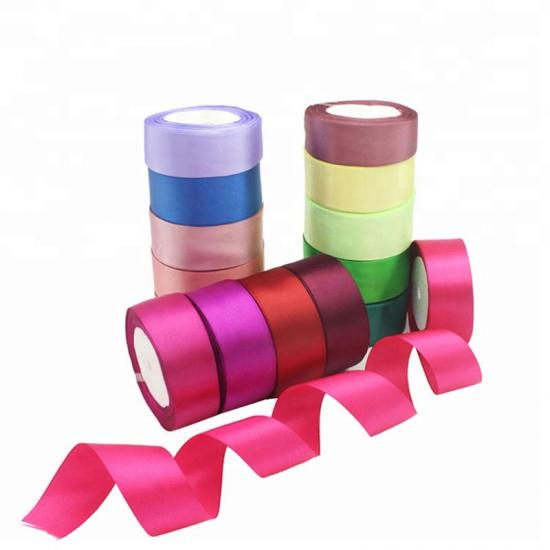 Polyester Satin Shining Ribbons for Gift Boxes
