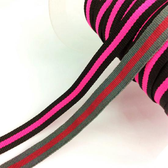 Nylon Ribbons with Weaving Logo