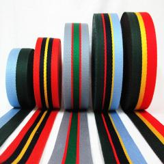 Black Polyester Grosgrain Ribbons