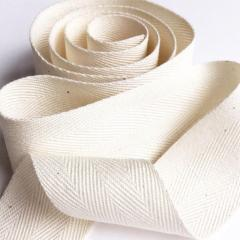 Customized Logo Twill Herringbone Soft Ribbons