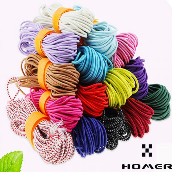 China Best Round Elastic Cord Elastic String For Clothing Supplier Homer Trimmings Co Ltd
