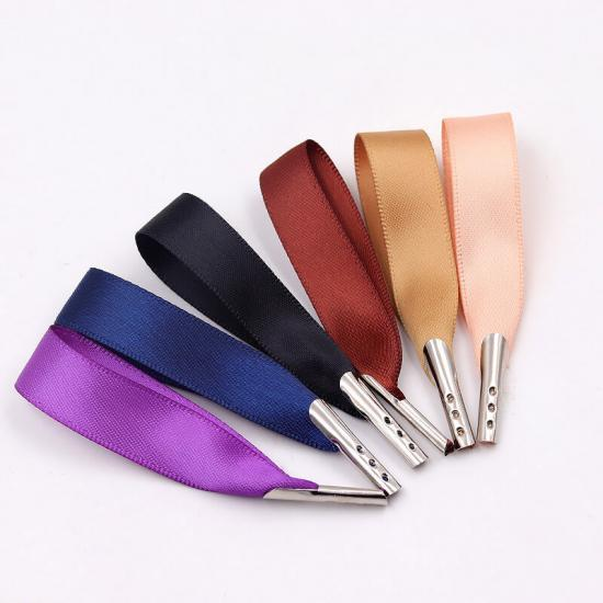 Colorful Polyester Satin Ribbons with Tips
